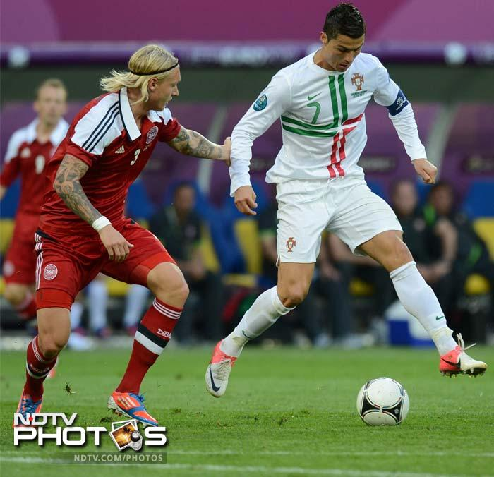 Portugal edge past Denmark 3-2