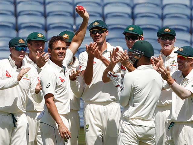 Pune Test, Day 2: Steve O'Keefe's 6-For Puts Australia On Top After India's Dramatic Collapse
