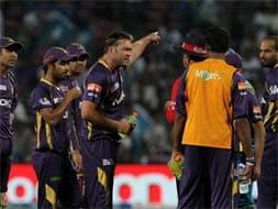 Photo : Kolkata Knight Riders' 46-run win over Pune Warriors