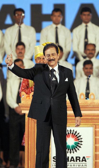 Sahara  unveils Pune team name