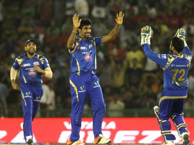 IPL: Mumbai Indians Pacers Choke Kings XI Punjab For Crucial Win