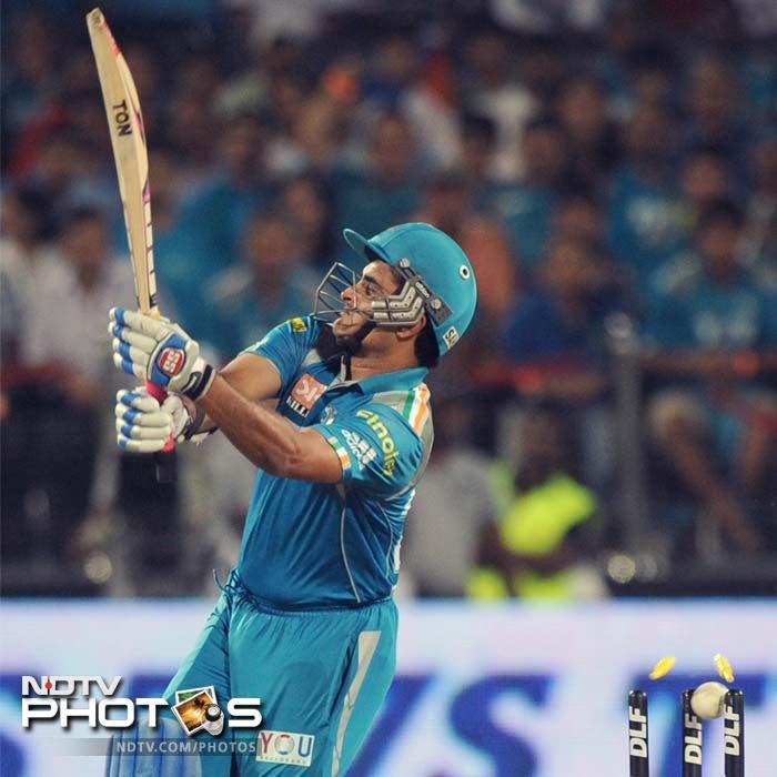 IPL 5: Mumbai defend 120 runs against Pune
