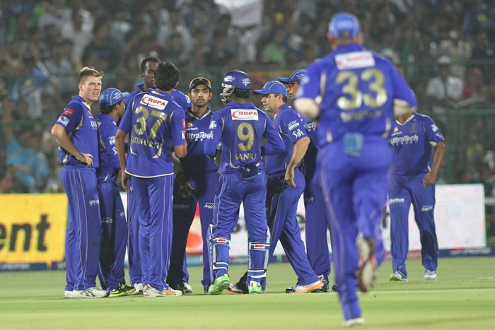 Rajasthan Royals scrape past Pune Warriors with a nervy win
