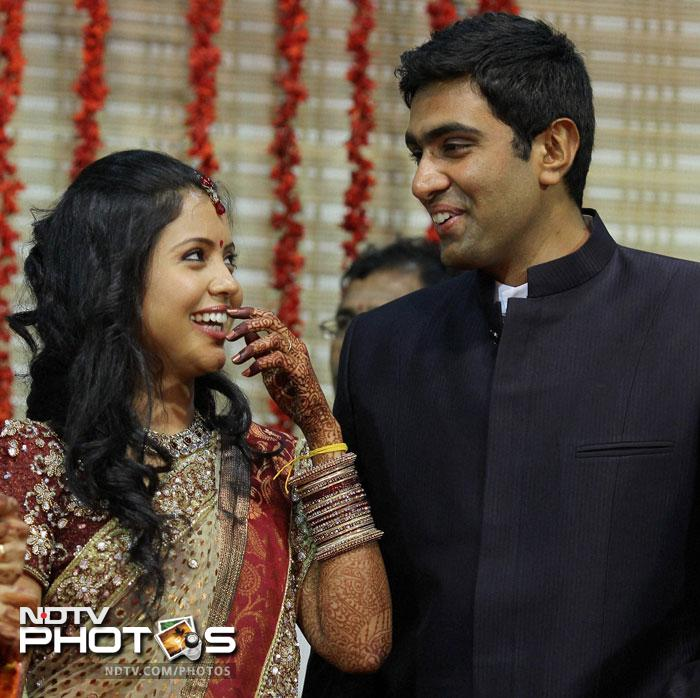 Ravichandran Ashwin ties the knot