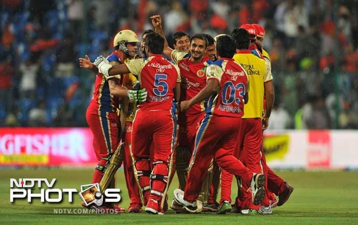 IPL 5: Bangalore down Pune in a thriller