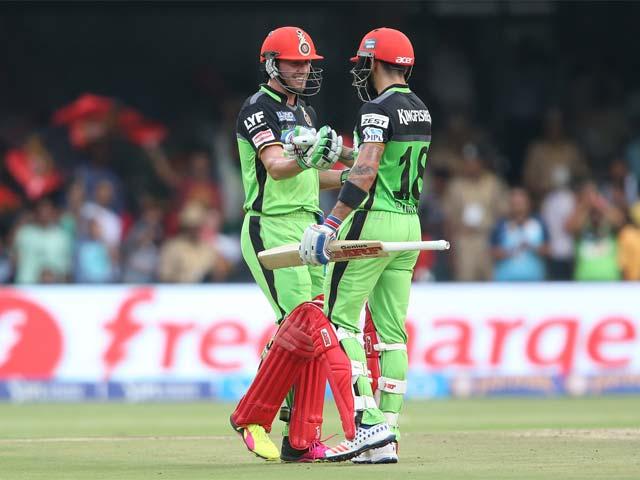 IPL: Virat Kohli, AB de Villiers Tons Give RCB Record 144-Run Win Over Gujarat Lions