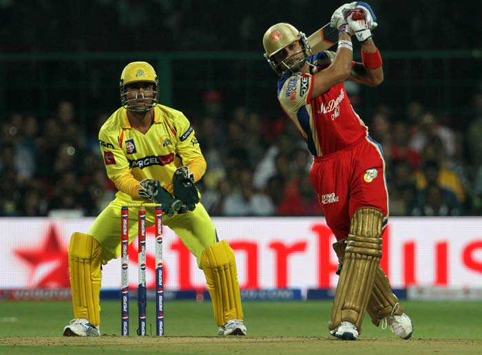 Bangalore's 24-run win over Chennai in pics