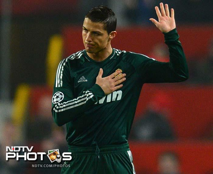 Ronaldo's winner sends Manchester United out of Champions League