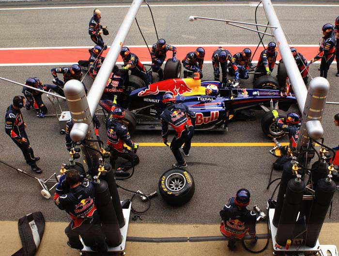 Red Bull: Racing for another title