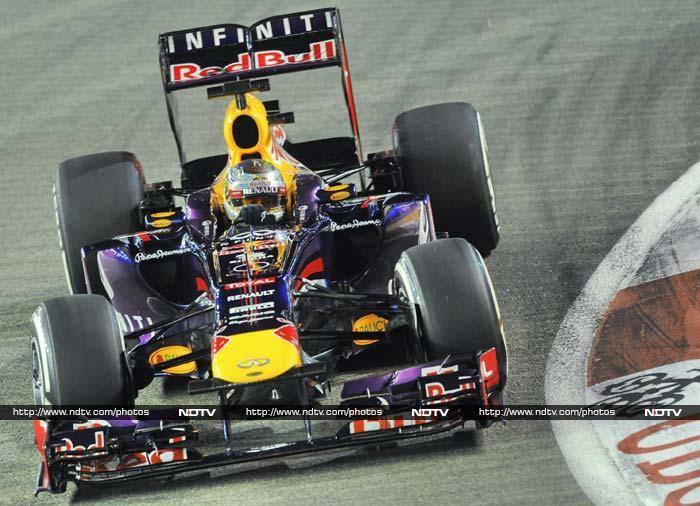 Singapore GP Qualifying session: Sebastian Vettel takes pole position