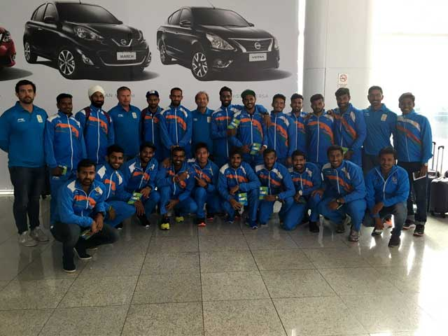 Photo : Rio 2016: Indian Contingent Arrives for Olympics