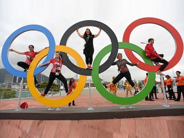 Photo : रियो ओलिंपिक 2016 का काउंटडाउन शुरू, फैन्स में दिख रहा है जबरदस्त क्रेज