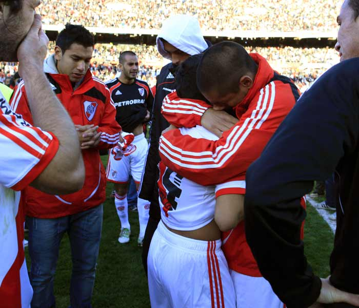 Violence, riots break out as River Plate relegated