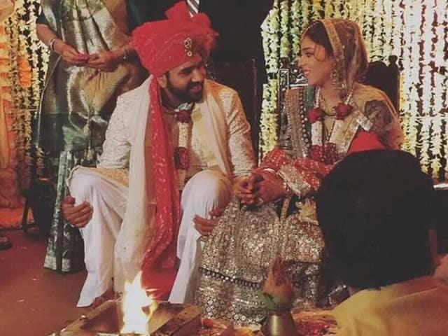 Photo : क्रिकेटर रोहित शर्मा- रितिका की शादी में शामिल हुए कई दिग्गज