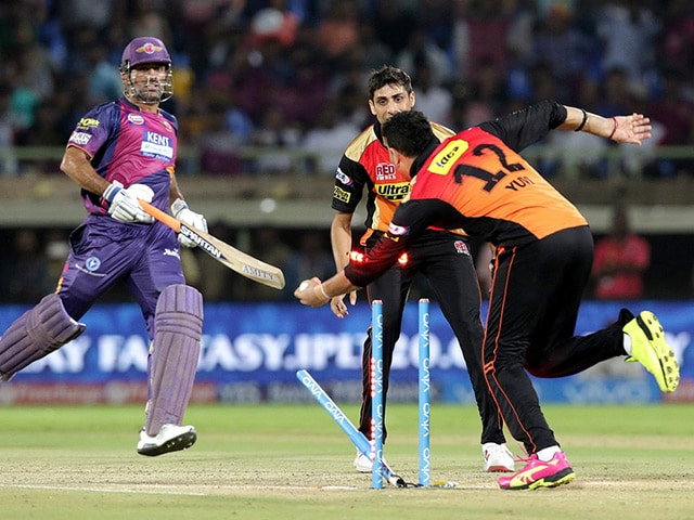 Photo : Sunrisers Hyderabad Clinch Last Ball Thriller Against Rising Pune Supergiants