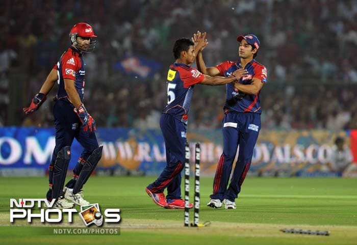IPL 5: Sehwag, Negi dismantle Rajasthan