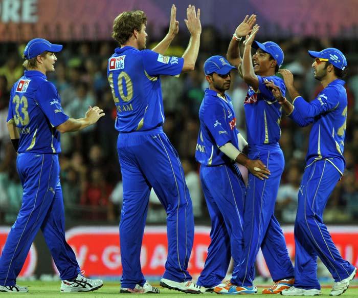 IPL 4: Rajasthan vs Kochi