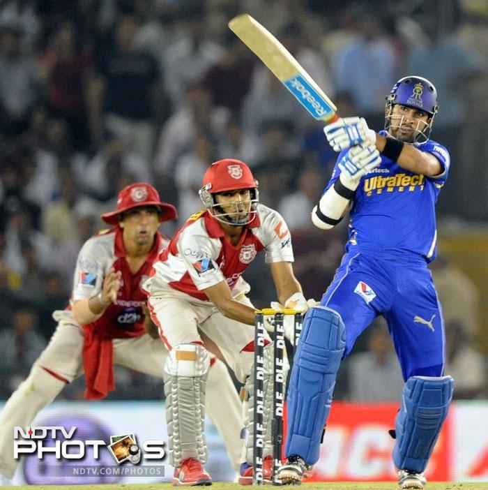 Rajasthan Royals thrash Kings XI Punjab
