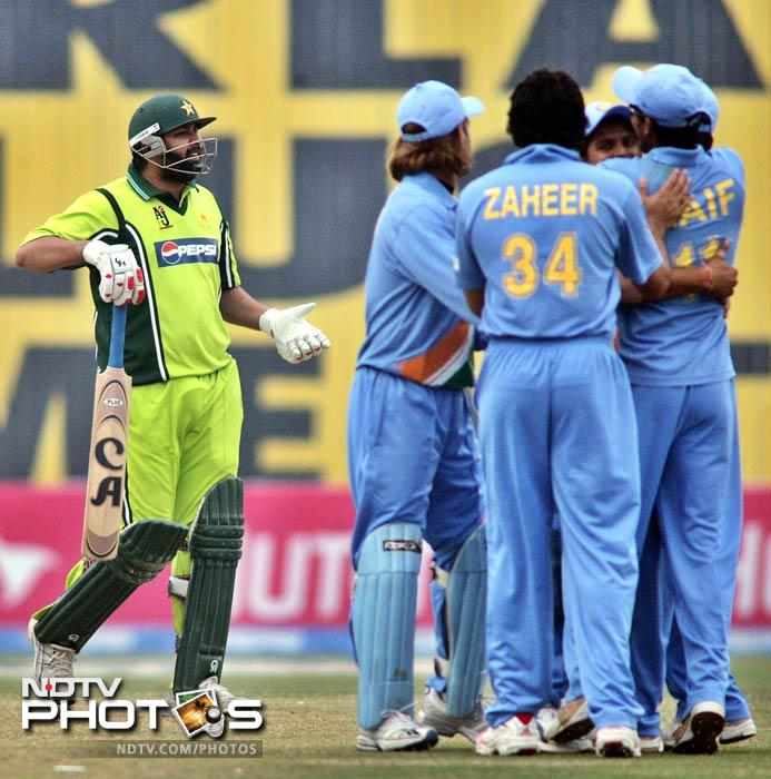 When Inzamam was on the receiving end