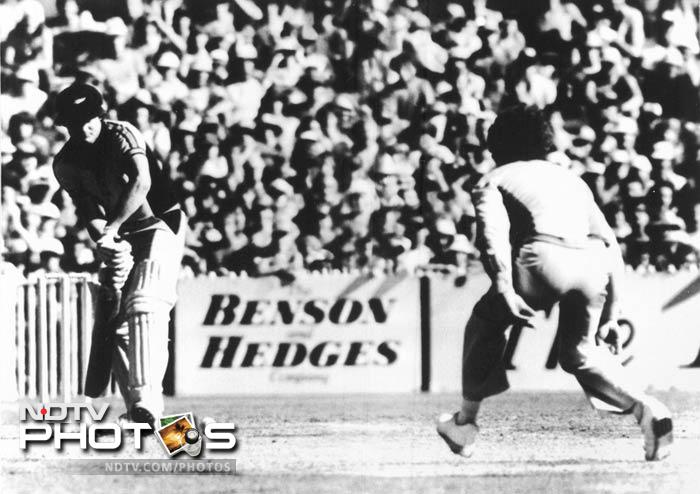 Trevor Chappell's underarm bowling