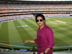 Photo : Sachin Tendulkar Grabs Spotlight at MCG