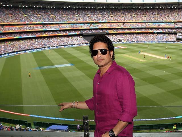 Sachin Tendulkar Grabs Spotlight at MCG