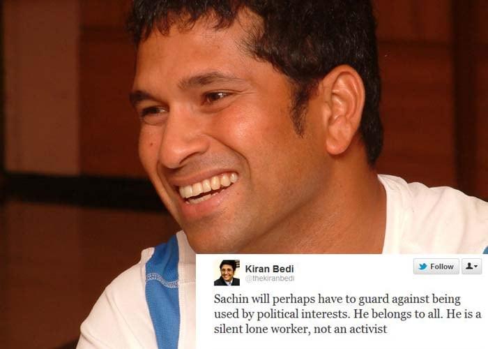 Celebs tweet about Sachin Tendulkar's Rajya Sabha nomination