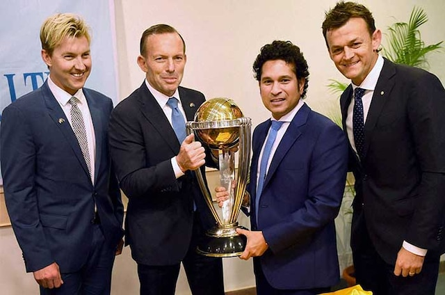 World Cup is Ours: Sachin Tendulkar Poses With Trophy