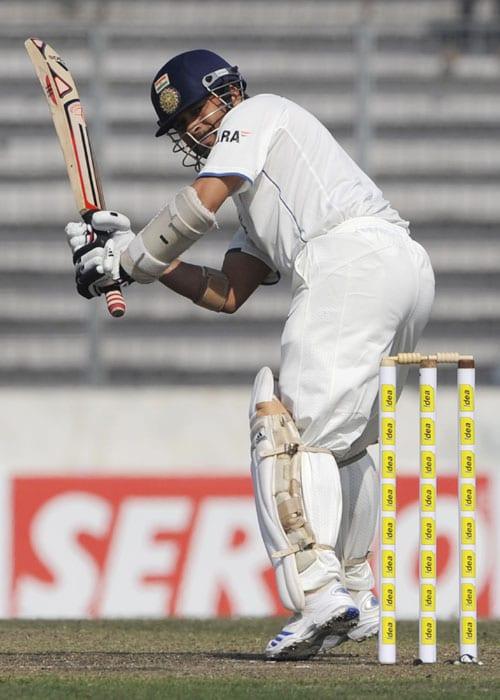 Sachin Tendulkar's Test tons