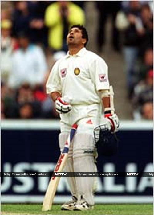 Sachin Tendulkar's ten best Test centuries