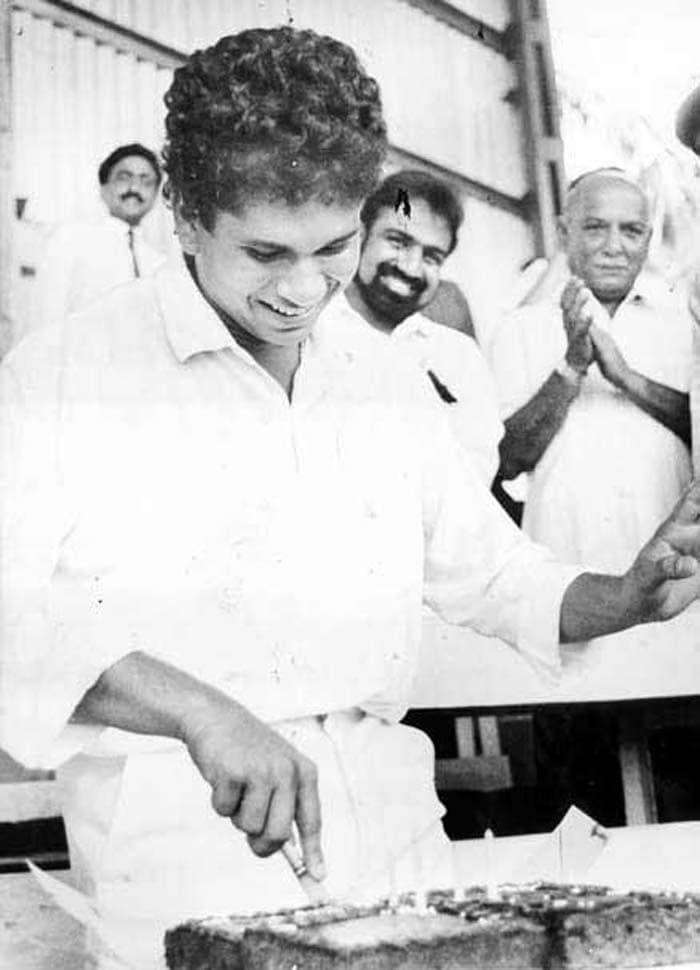 Unseen pictures of Sachin Tendulkar