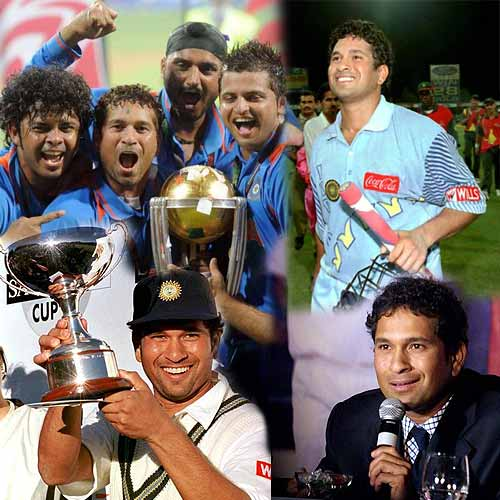Counting the candles on Tendulkar's cake