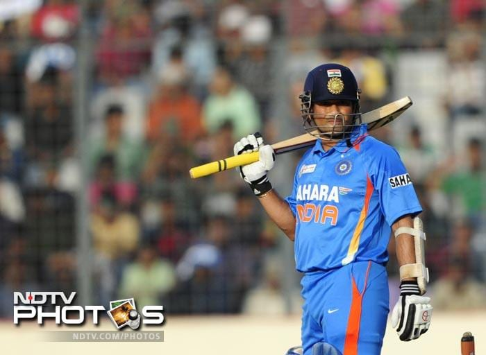 Sachin's 100th hundred: As it happened