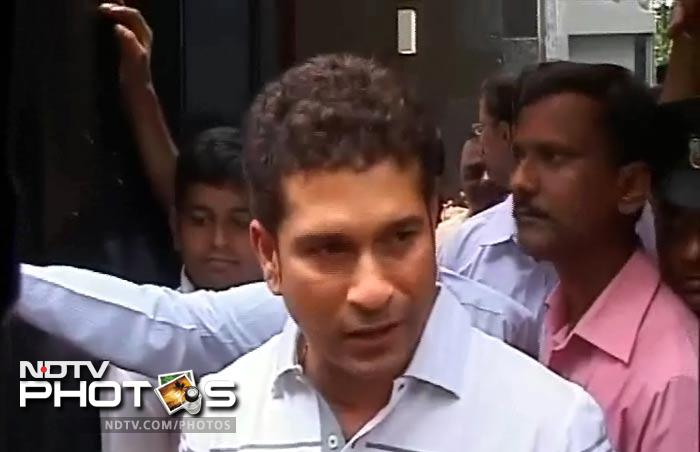 Sachin's emotional move to his new home
