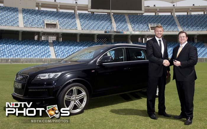 Cricketers and their fast machines