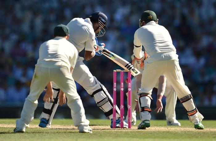 SCG Test: Rohit Sharma, KL Rahul Plot India