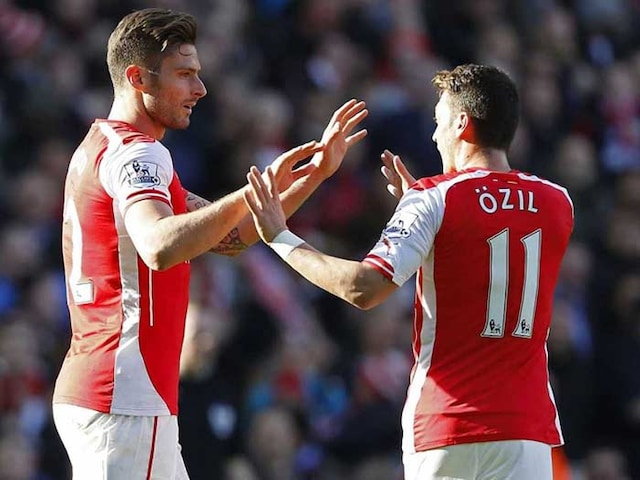 EPL: Arsenal Rise to 3rd, Liverpool Sink Manchester City