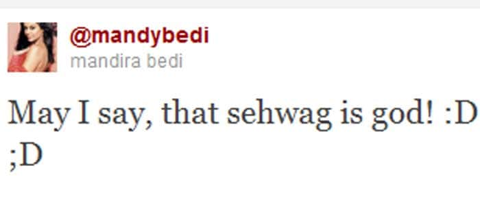 On Twitter, Sehwag is crowned King