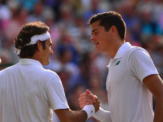 Wimbledon: Federer Crushes Raonic to Set Up Djokovic Final
