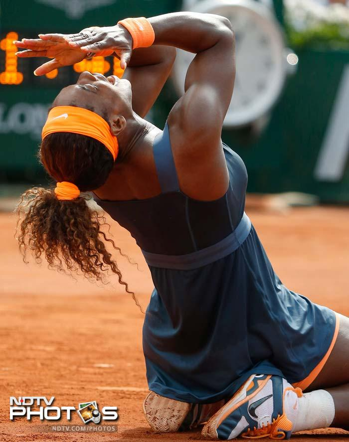 Serena Williams reigns supreme in Paris
