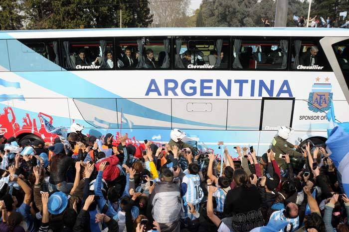 FIFA World Cup: Argentina Return to a Heroes