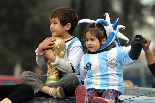 FIFA World Cup: Argentina Return to a Heroes Welcome