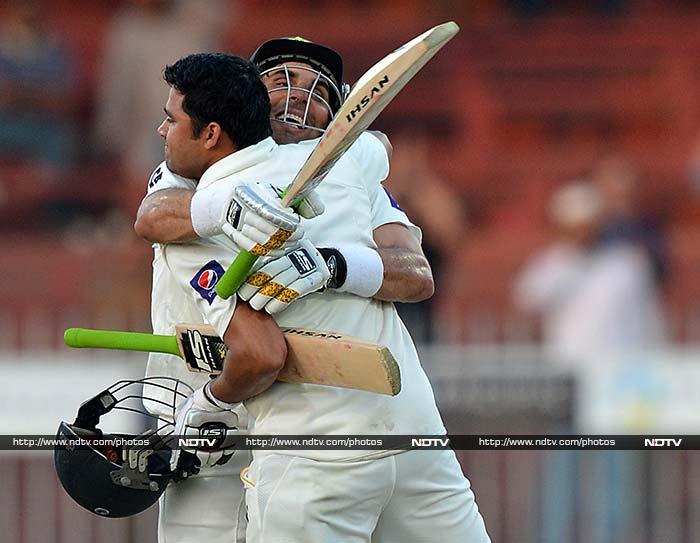 Pakistan do an Usain Bolt in Sharjah Test win over Sri Lanka
