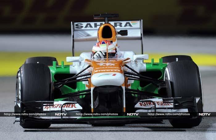 Singapore Grand Prix: Vettel triumphs under lights