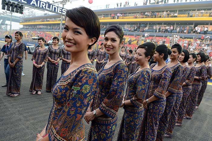The High Flying Grid Girls Of Singapore F1  Photo Gallery-5212