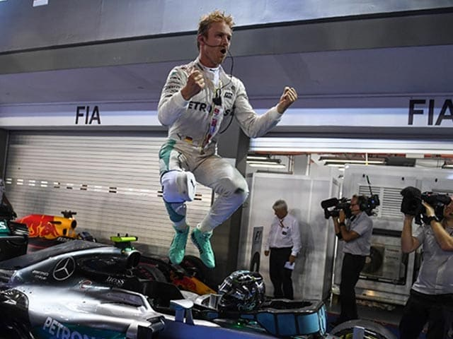 Formula One: Nico Rosberg Crowned The New King Of Singapore
