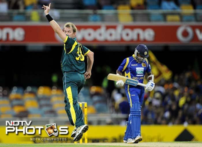 CB Series 1st final: Australia go past Sri Lanka