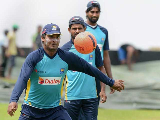 Photo : Kumar Sangakkara Begins Training for Swansong Test