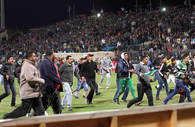 Soccer violence kills 74 in Egypt