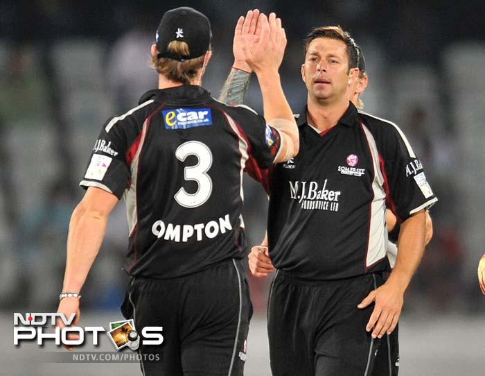 CLT20: Somerset oust Auckland with a close win